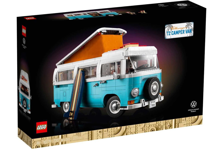 Lego Volkswagen T2 3
