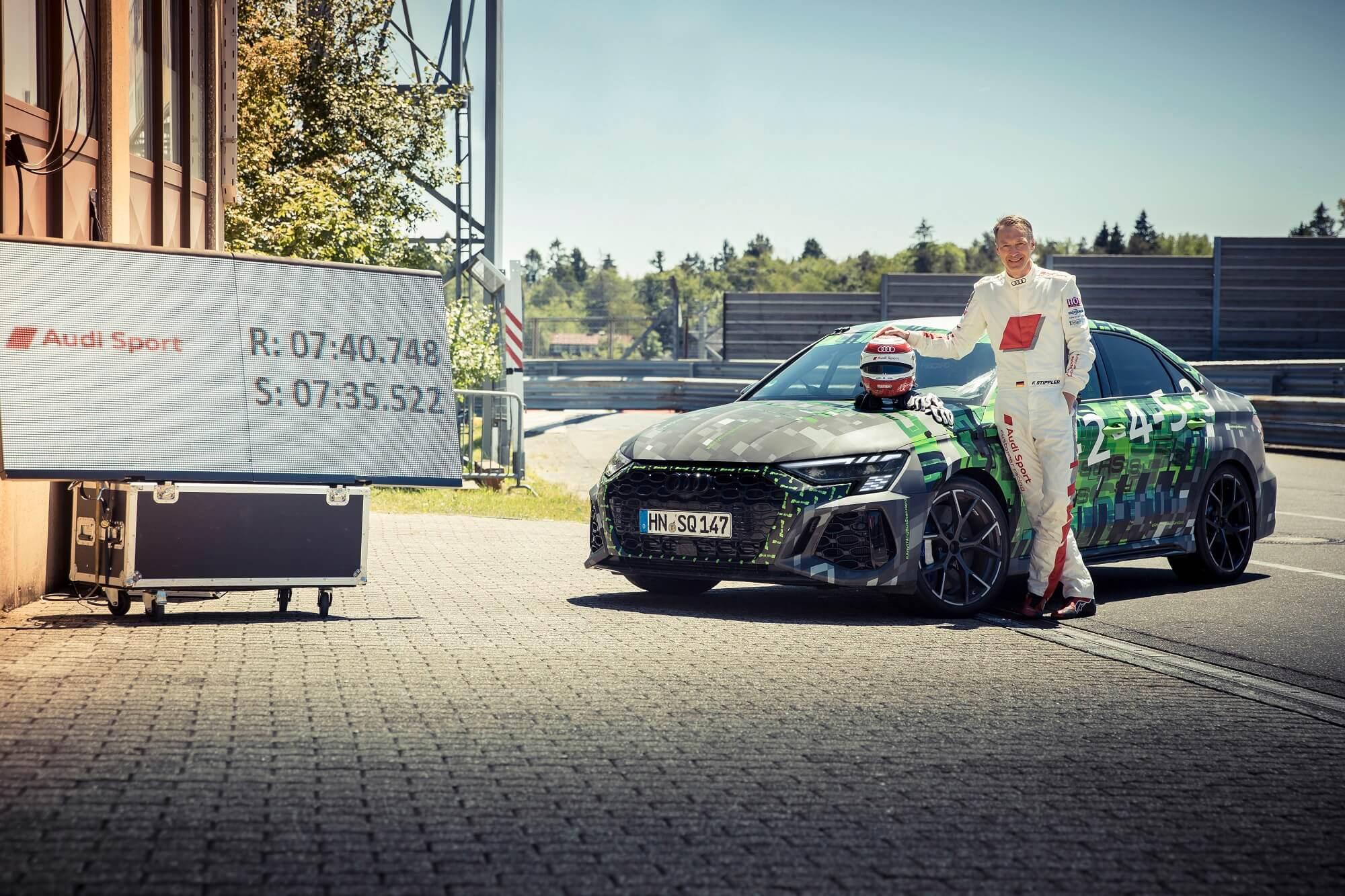 Audi RS 3 recorde