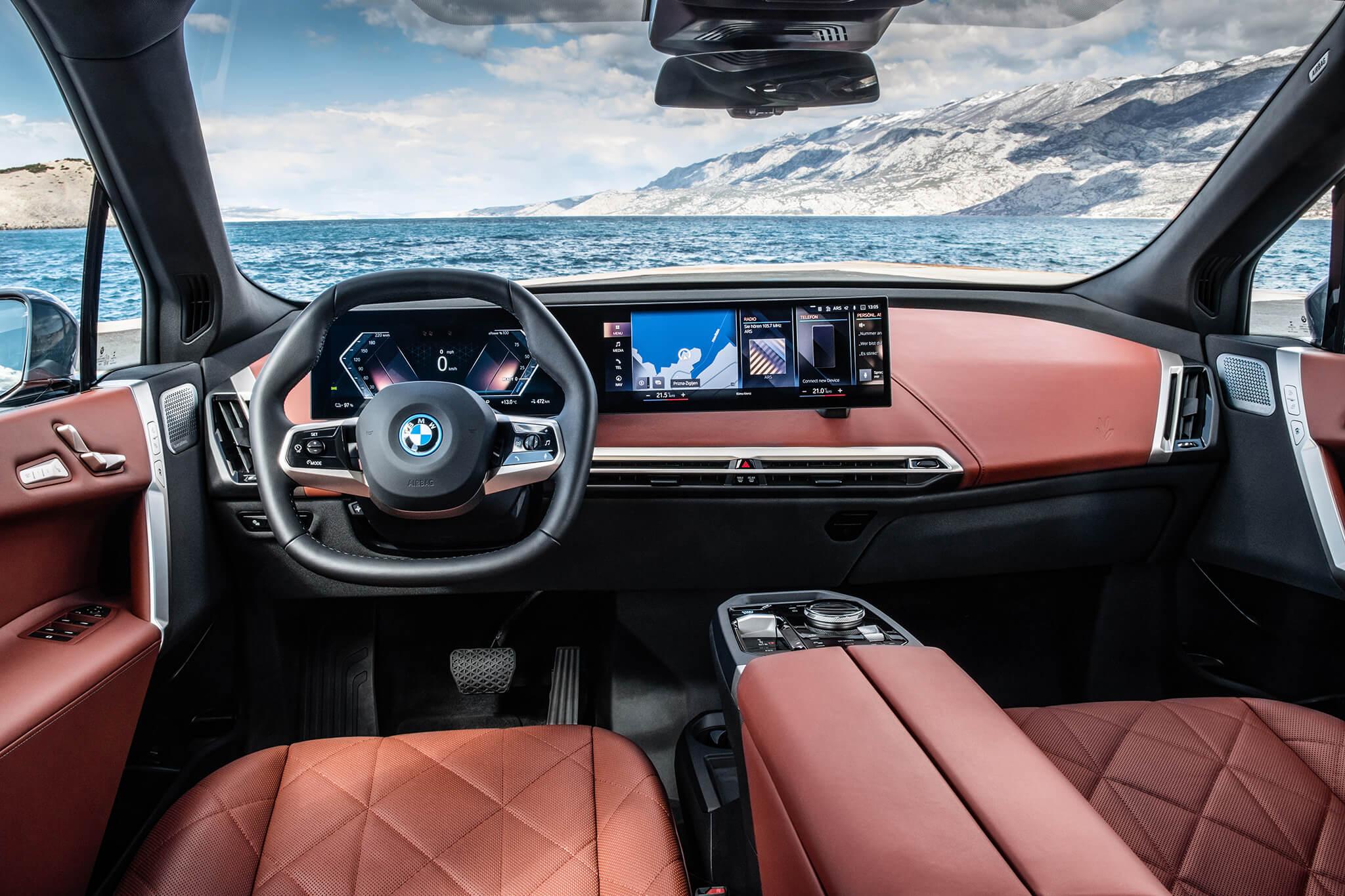 Interior BMW iX xDrive50