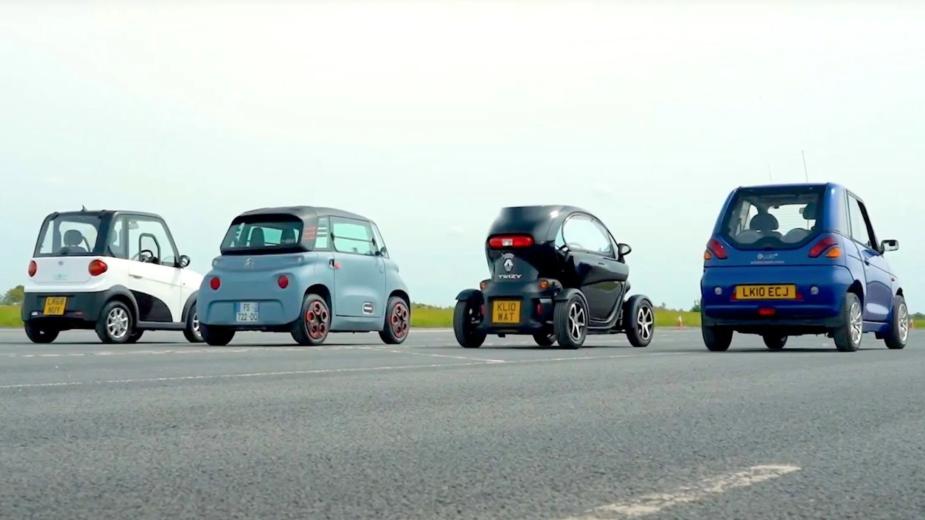 Drag race quadriciclos
