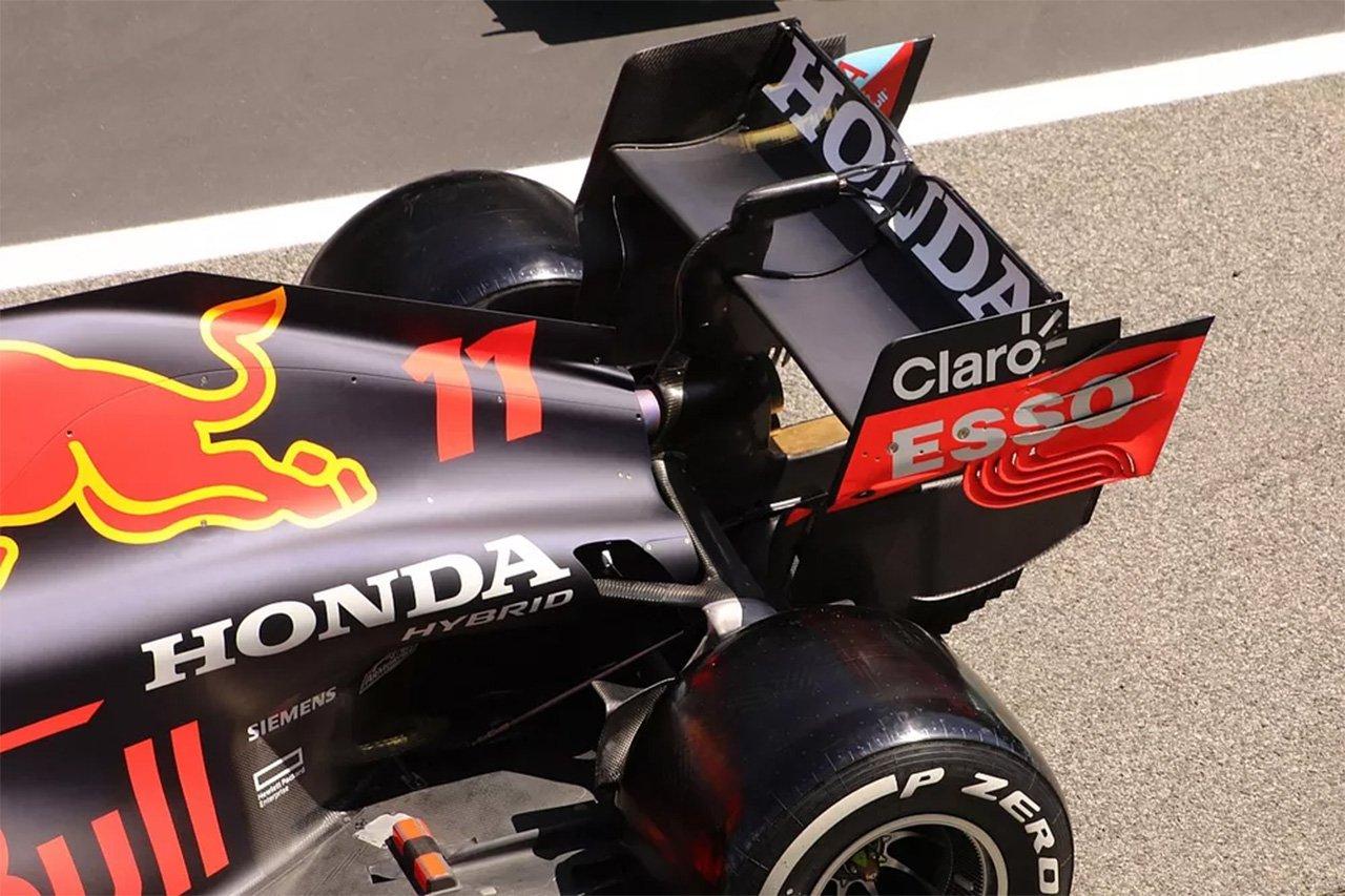 Formula 1 asa traseira atual