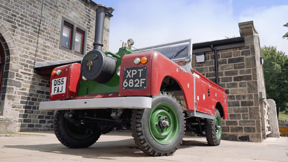 Land Rover a vapor