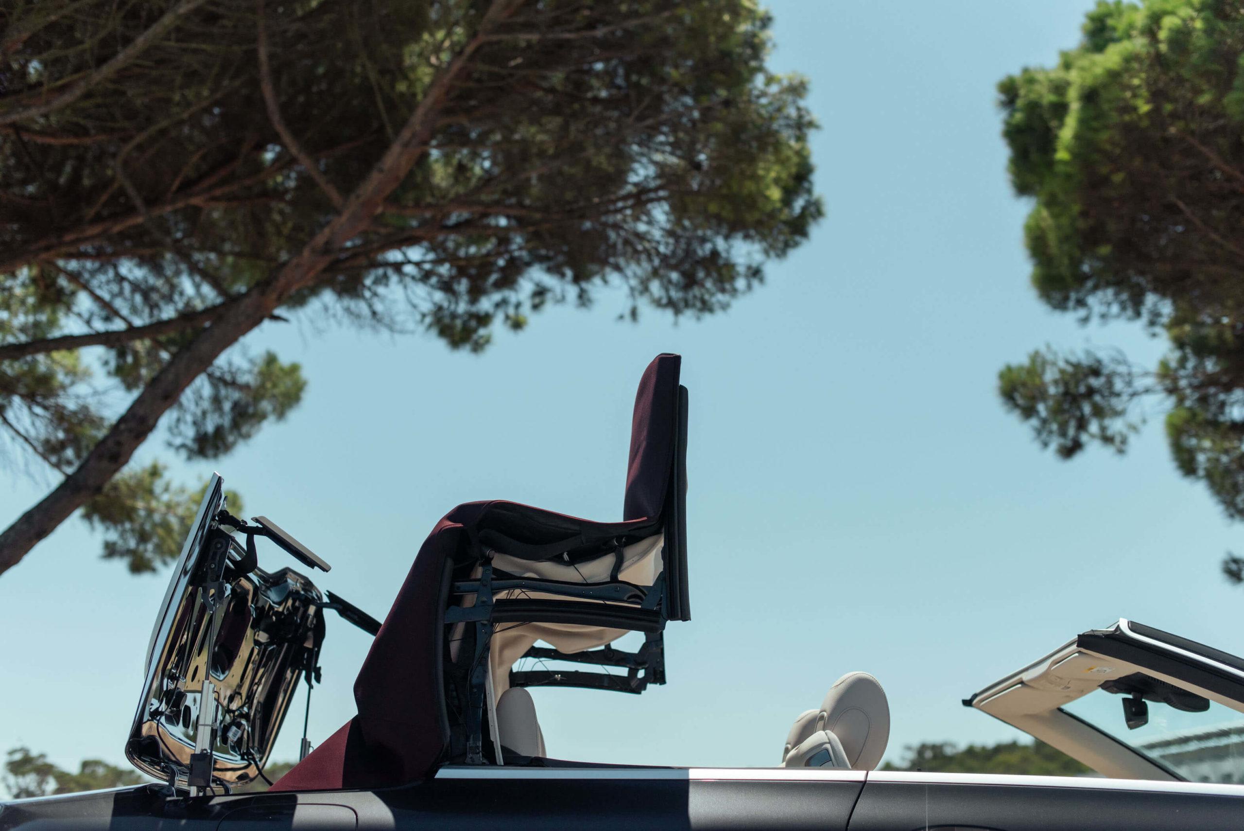 Capota Mercedes-Benz Classe E Cabriolet