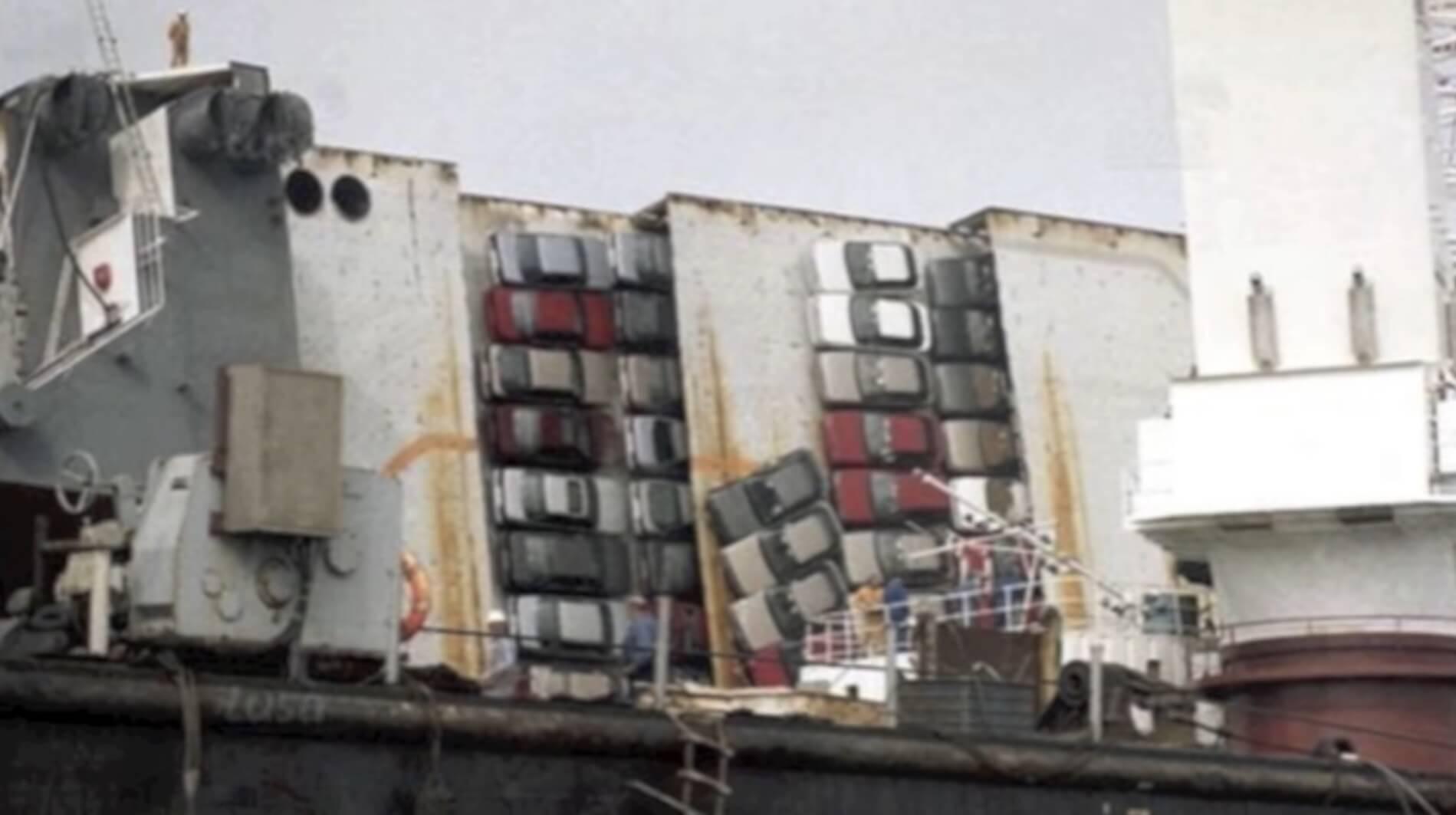 MV Reijin naufragio
