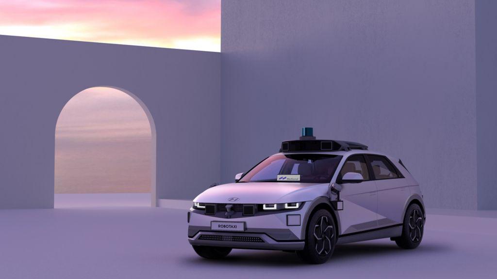 Motional e o Hyundai Motor Group revelam o IONIQ 5 Robotaxi o robotaxi de nova geração da Motional