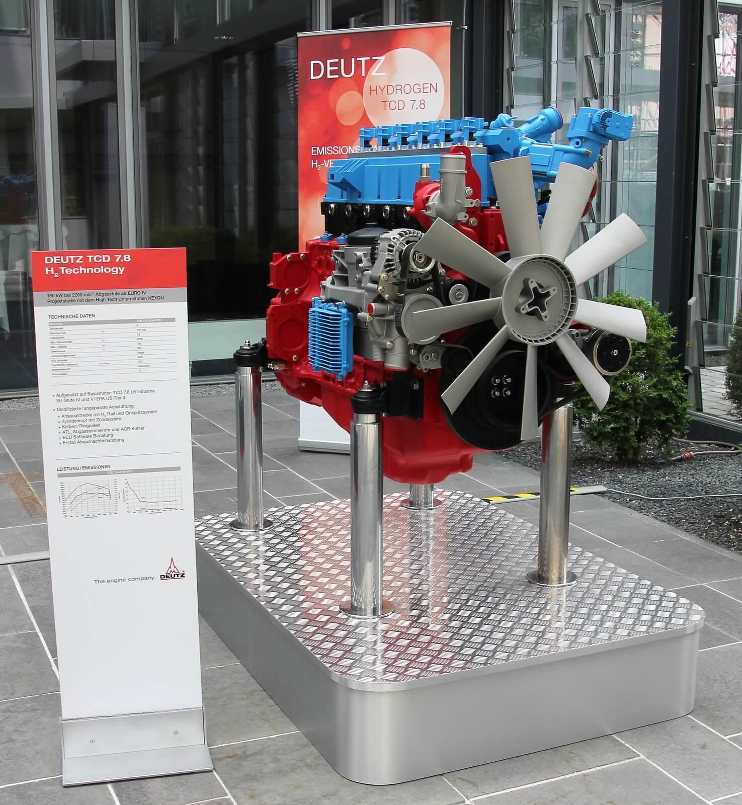 TCD 7.8 Motor Deutz