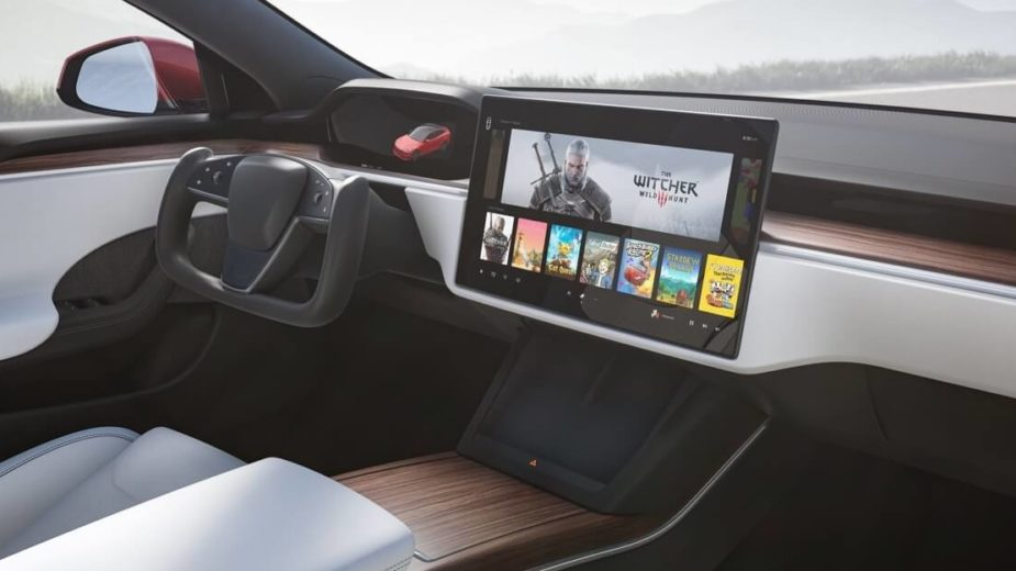 Interior Tesla Model S Plaid