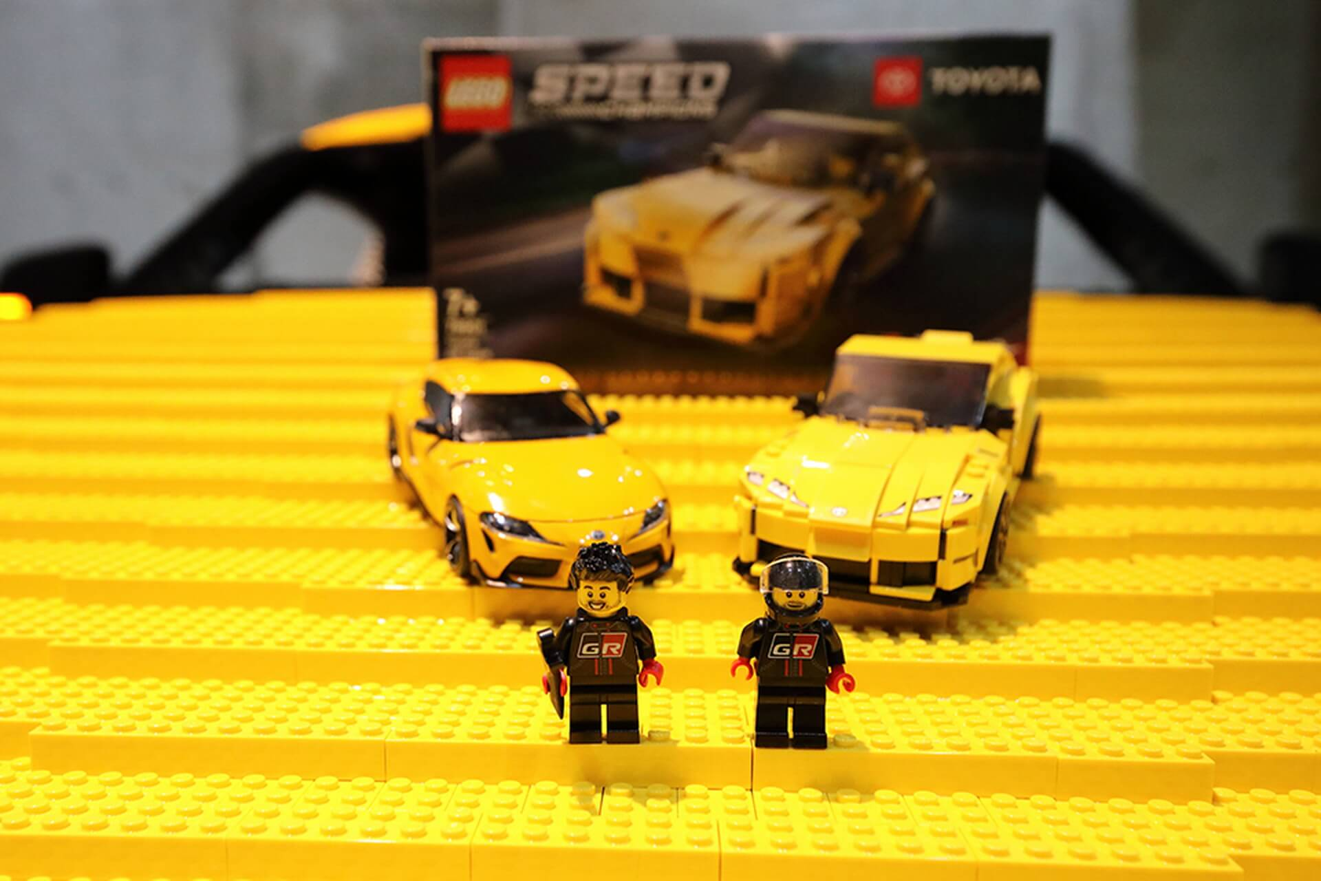 Toyota GR Supra Lego funcional12