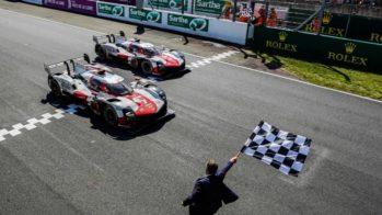 Toyota vitória Le Mans 2021