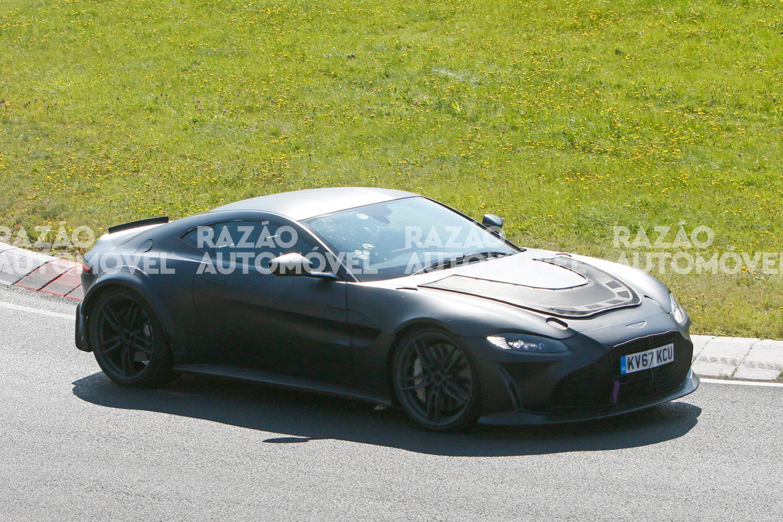 fotos-espia Aston Martin Vantage