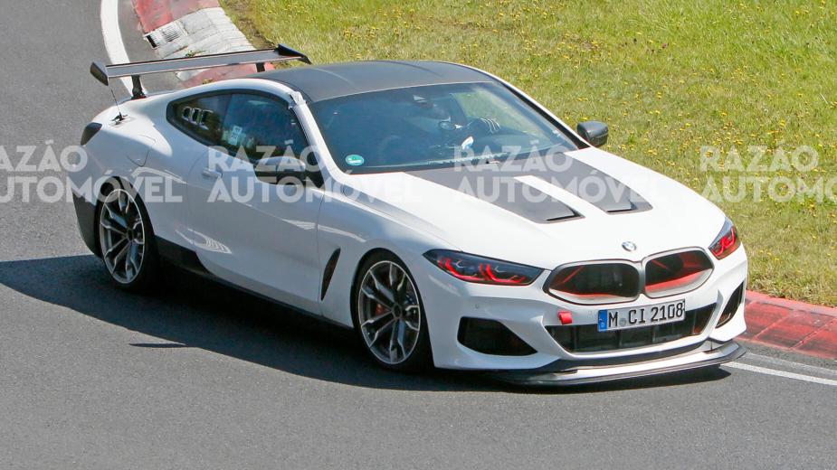 fotos-espia BMW M8 CSL