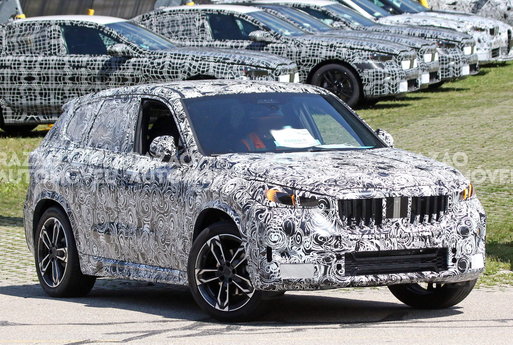 BMW X1 fotos-espia
