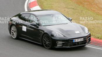 Porsche Panamera Turbo GT fotos-espia