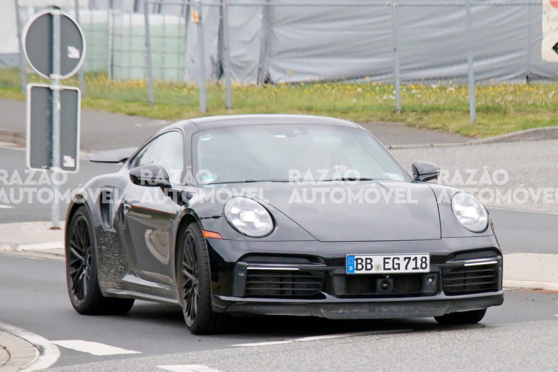 Porsche 911 Turbo fotos-espia