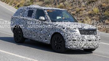 fotos-espia Range Rover PHEV