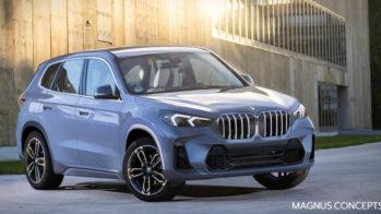 BMW X1 render