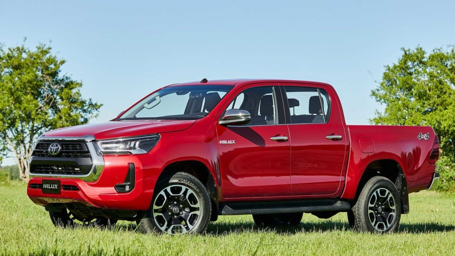 Toyota Hilux 2021 brasil