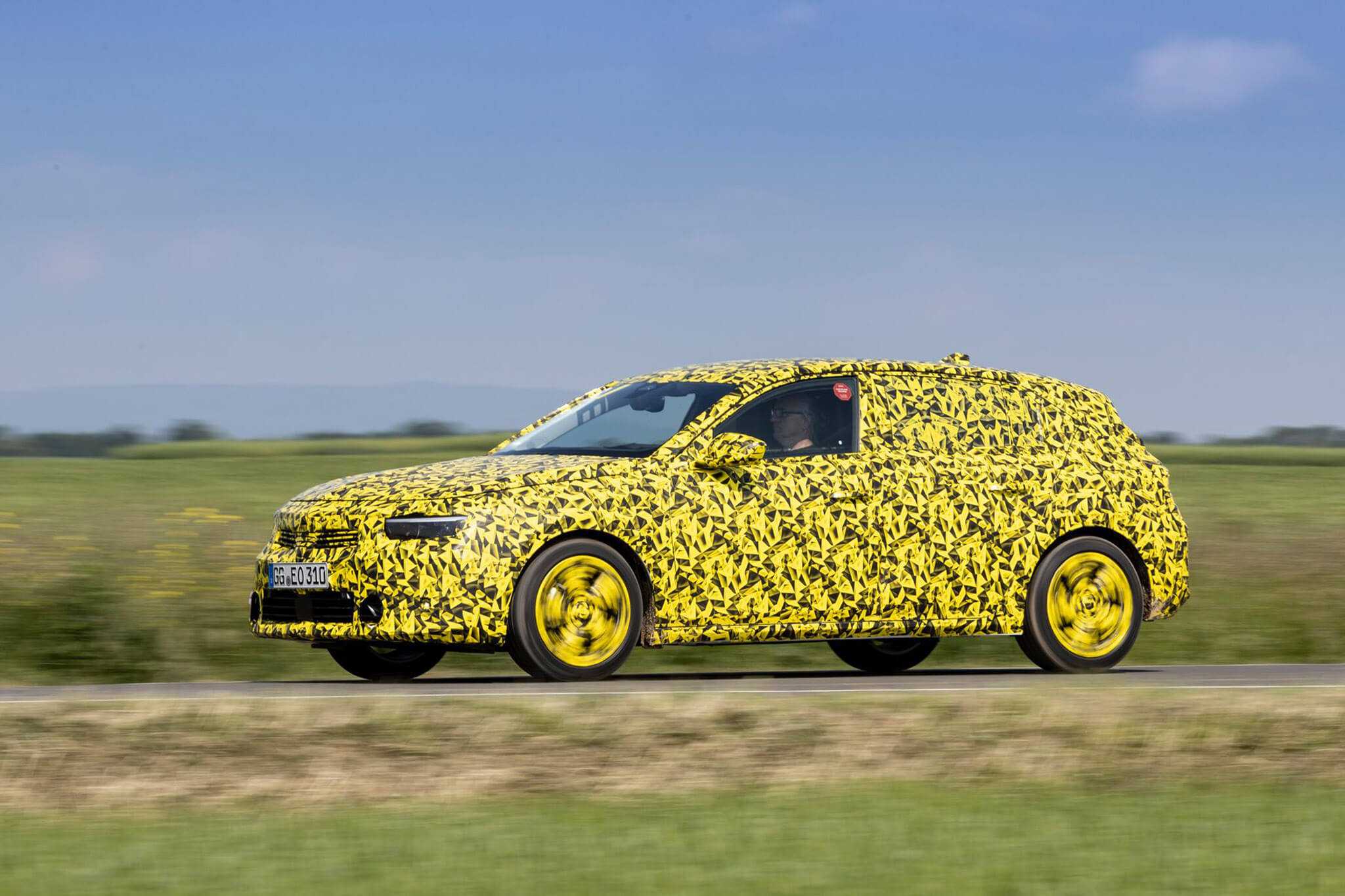 Opel Astra L protótipo