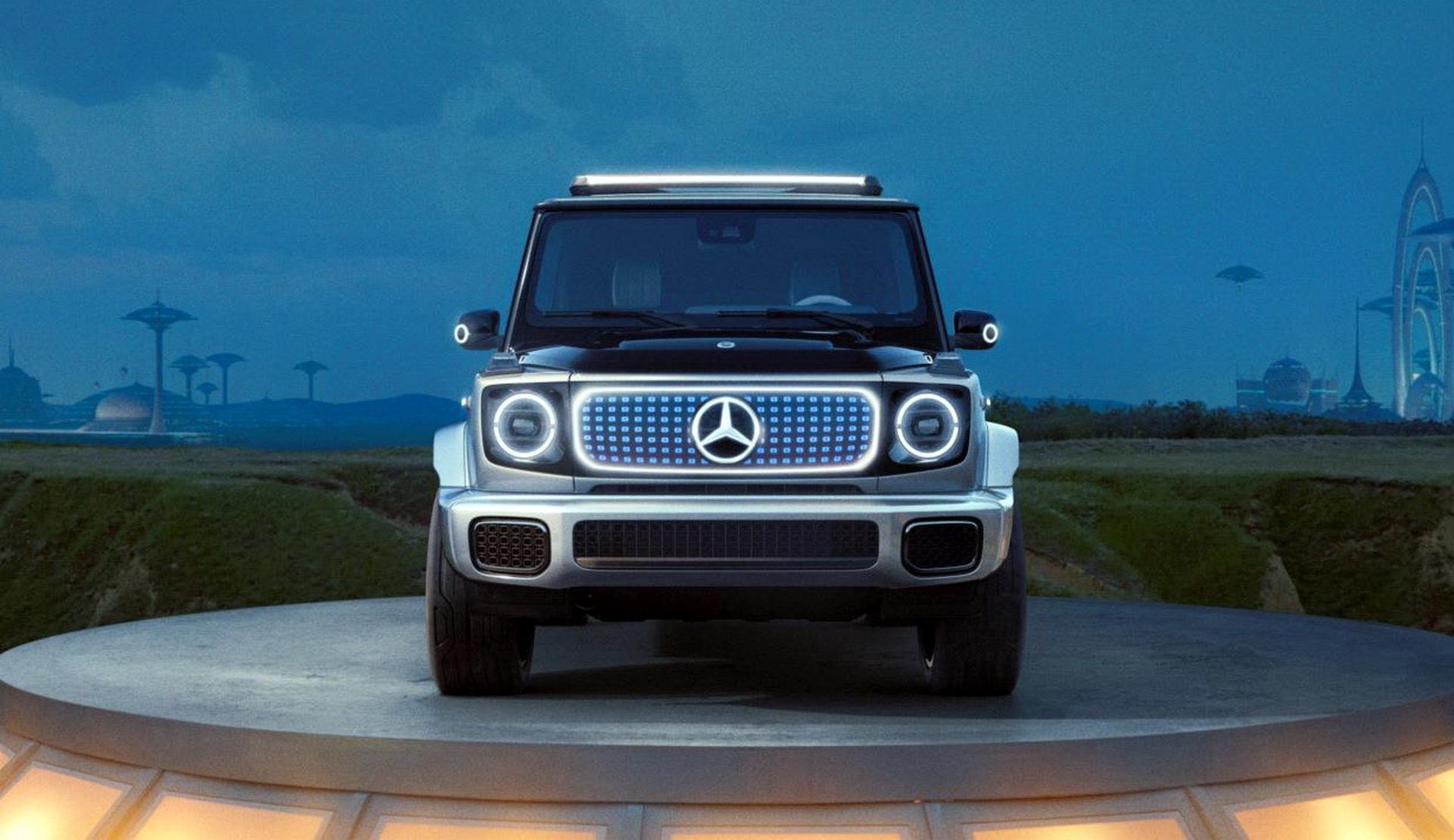 Mercedes-Benz EQG Concept 2