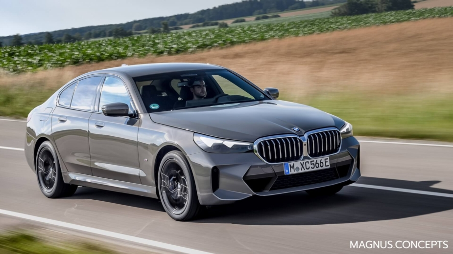 BMW Série 5 G60 render