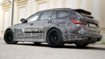 BMW M3 Touring teaser