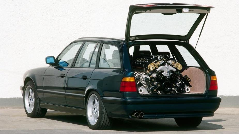 BMW M5 Touring E34 V12
