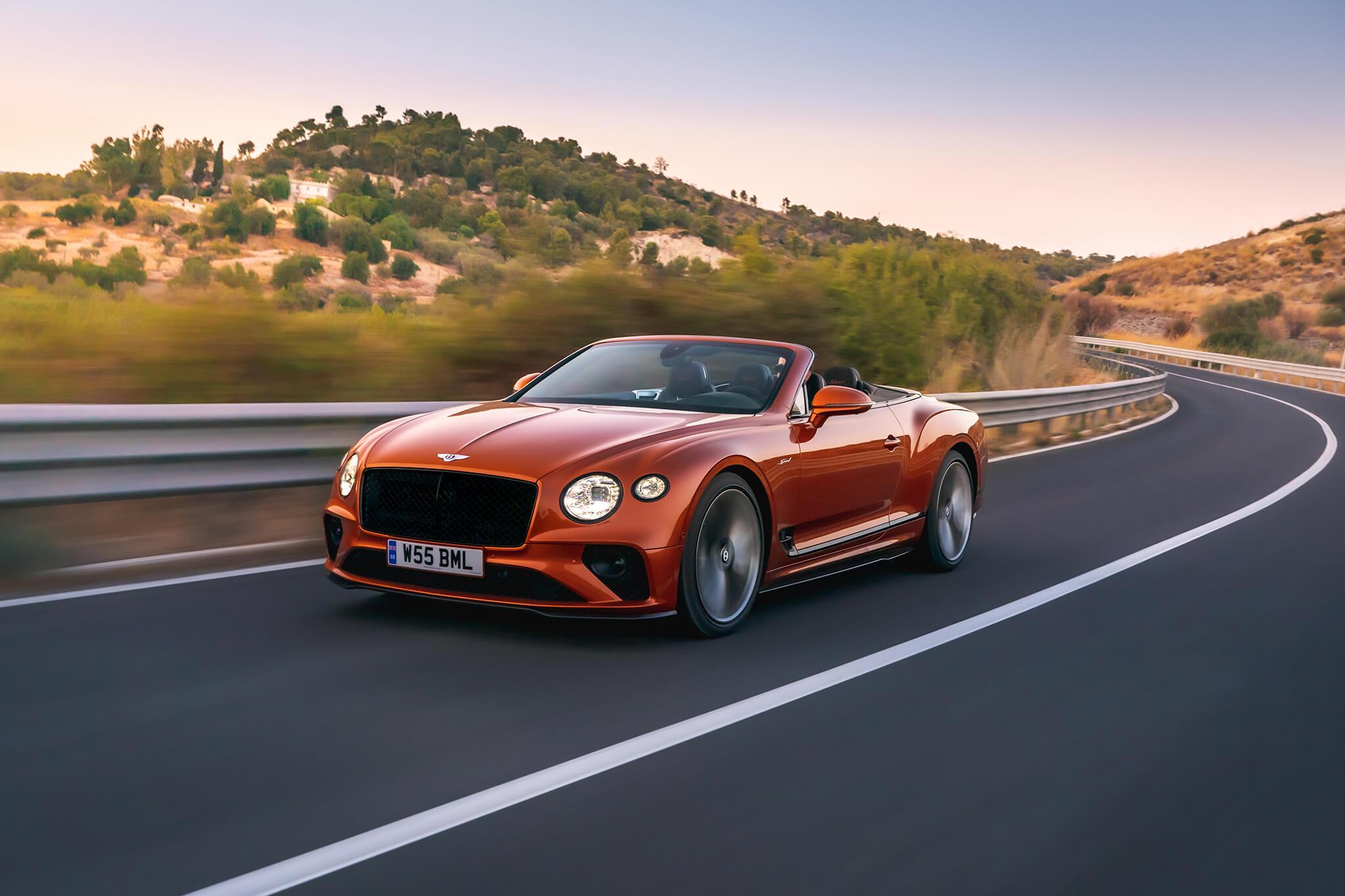 Bentley Continental GT Speed Covnertible