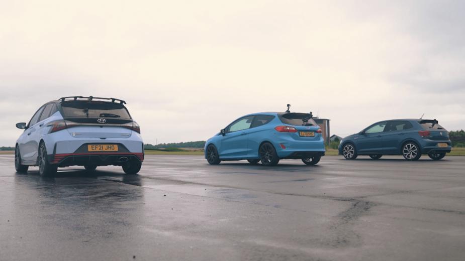 Drag Race — Fiesta ST, i20 N e Polo GTI