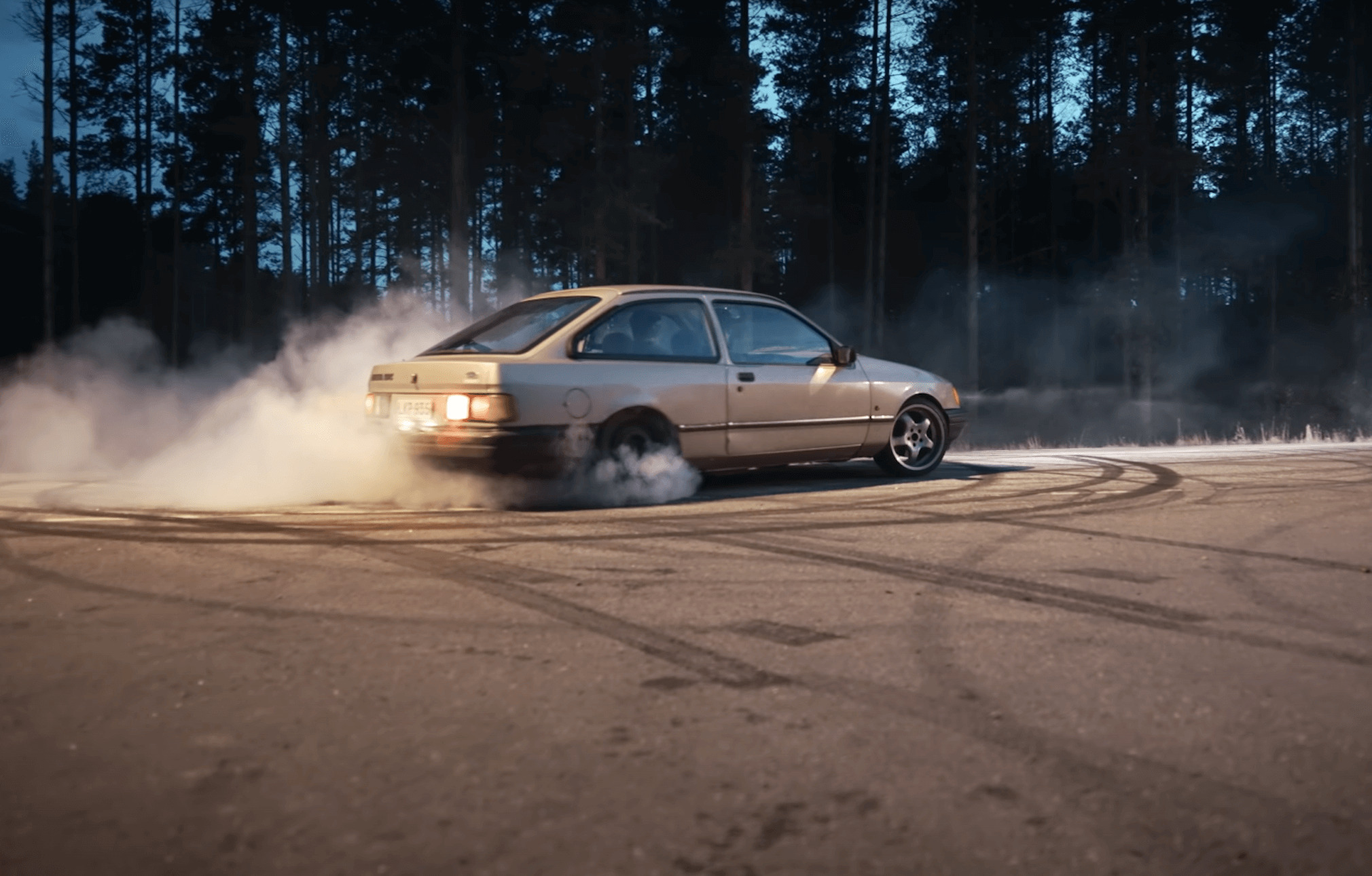 Ford Sierra Sleeper 1