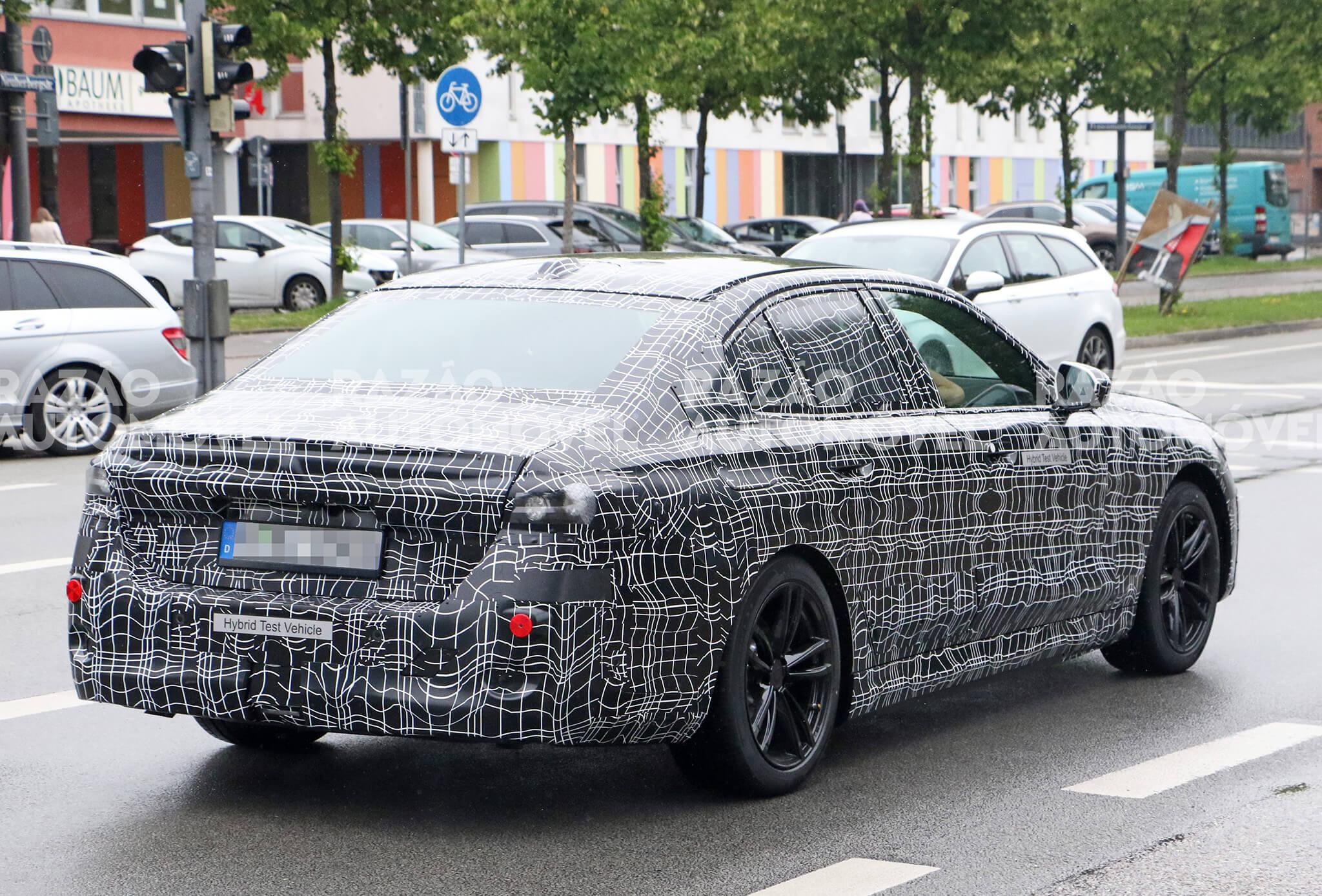 Fotos-espia BMW Série 5 G60