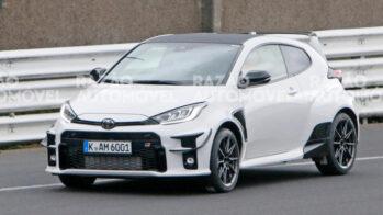 Fotos-espia Toyota GR yaris GRMN