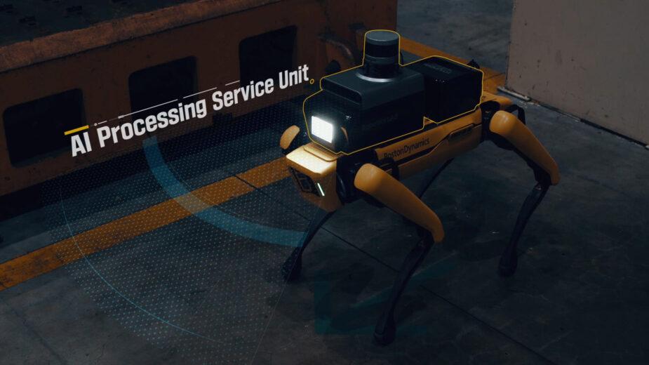 Hyundai Factory Safety Service Robot
