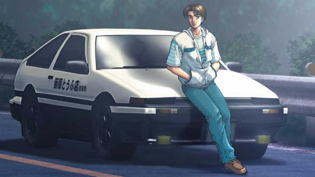 Initial D Toyota AE86