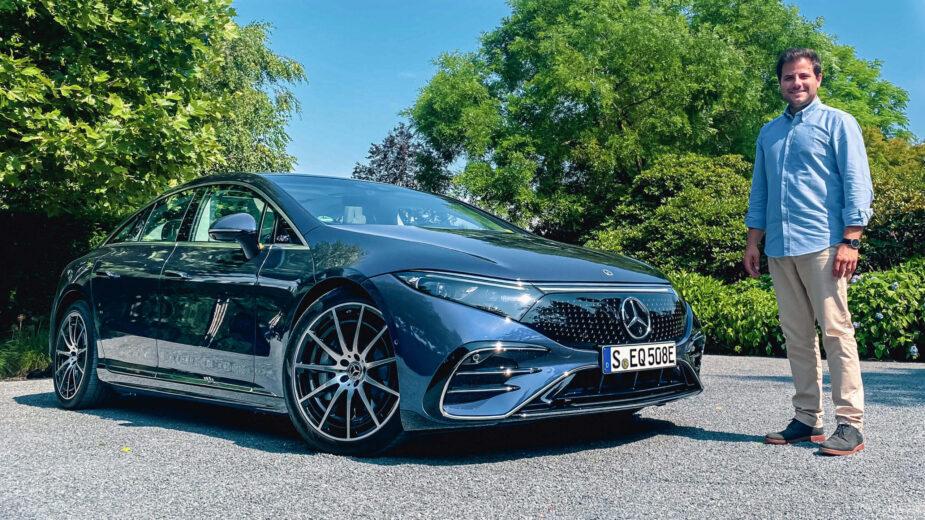 Mercedes-Benz EQS com Diogo Teixeira