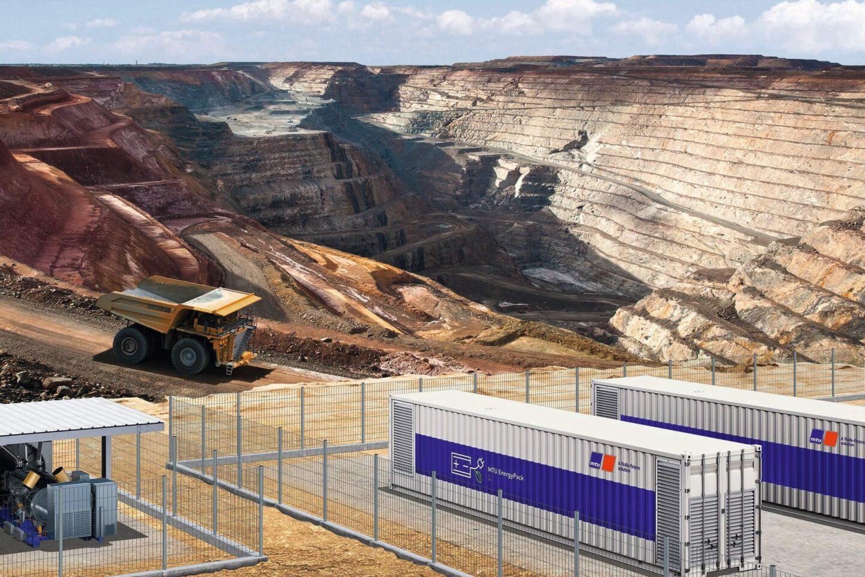 Camião de transporte de minério Rolls-Royce