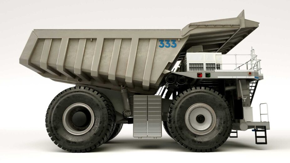 rolls-royce camião de transporte híbrido