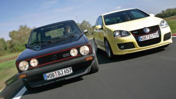 Volkswagen Golf GTI I e Golf GTI V