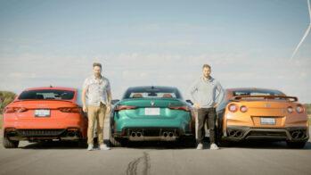 Nissa GT-R, Audi RS5 e BMW M4
