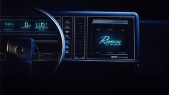 Buick Riviera ecrã