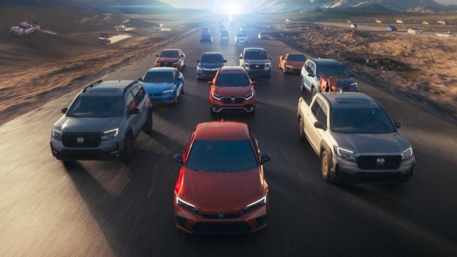 Honda anúncio