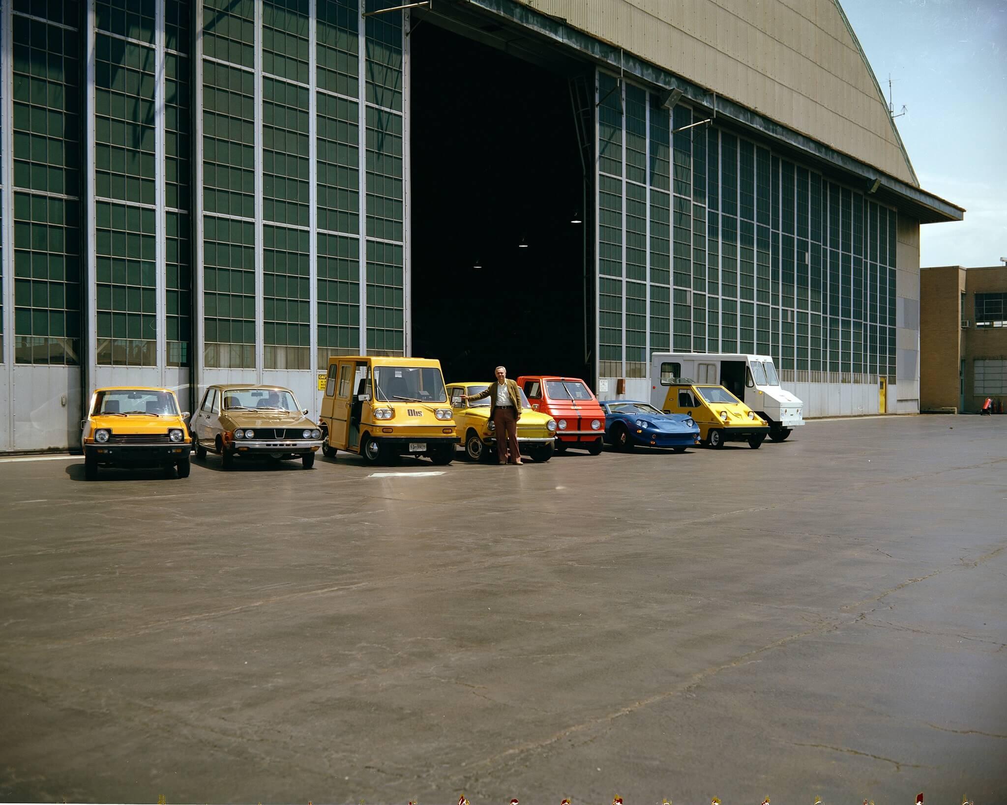 Renault 12 Electric EVA Metro