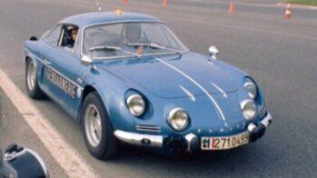 Alpine A110 Gendarmerie