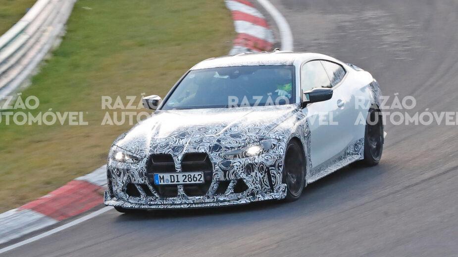 fotos-espia BMW M4 CSL