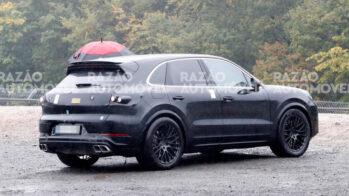 Porsche Cayenne fotos-espia